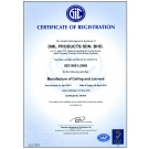 ISO 9001:2008 - MANUFACTURER CEILING AND LOUVRES